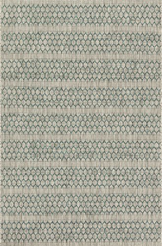 Loloi Rugs ISLEIE-01GYTE2239 Isle Collection Area Rug, Grey/Teal, 2' 2'' x 3' 9'' by Loloi