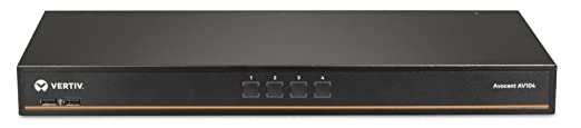 Review Vertiv Avocent 1x4 Rackmount