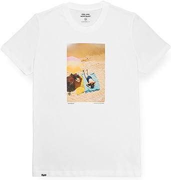 Brava Fabrics | Camiseta Hombre Manga Corta | Camiseta Blanca Hombre | Camiseta Casual | Camiseta Hipster | 100% Algodón | Modelo Grandma: Amazon.es: Ropa y accesorios