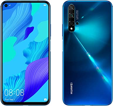 Huawei Nova 5T, Smartphone (6GB de RAM, 128GB de Memoria Interna, 5 Cámaras IA, FullView Display, Sensor de Huella Lateral, 3750 mAh) Dual-SIM, Infrared USB, Android, 6.26