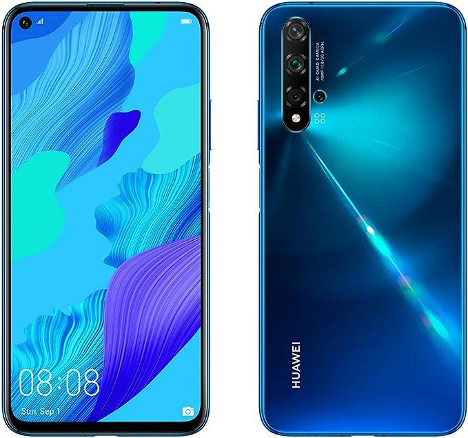 Huawei Nova 5T, Smartphone (6GB de RAM, 128GB de Memoria Interna ...