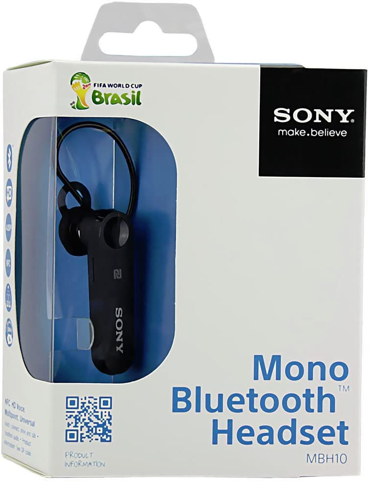 Sony Mbh10 Mono Bluetooth Headset Nfc A2dp One Touch Handsfree Hd Sound Black Amazon Ca Electronics