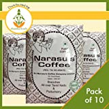 Narasu's Coffee Powder (Peabery) - Pack of 10 (Each 500 Gms)