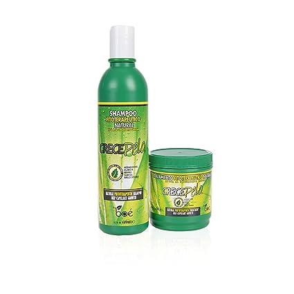 Crece Pelo Set de Champú y Tratamiento - Productos Naturales ...