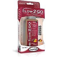 Flow2GO Lube Gel Lubricante Intimo Premium Base Agua, Choco Mango, 70g/66ml/2.5oz