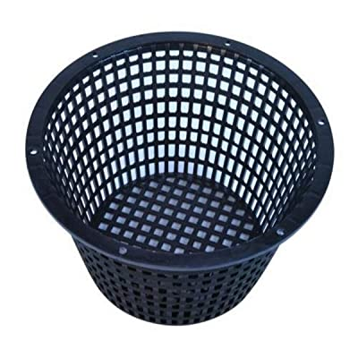 Black Heavy Duty Net Pot 8 Inch : Garden & Outdoor
