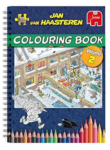 Jan van Haasteren Colouring Book Vol. 2 (Jumbo)