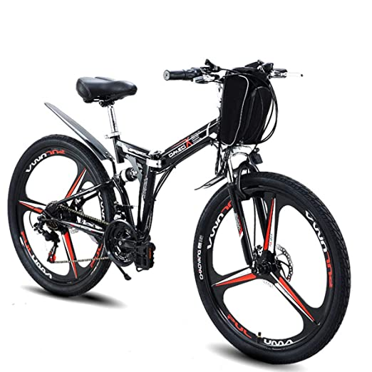 MERRYHE Bicicleta eléctrica Plegable Bicicleta de montaña Scooters ...