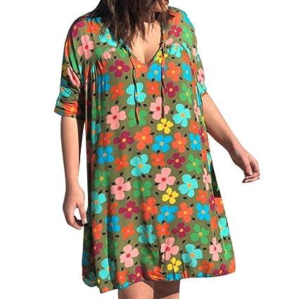 Vestidos De Fiesta Mujer Cortos,Wave166 Casual Vestido De Verano ...
