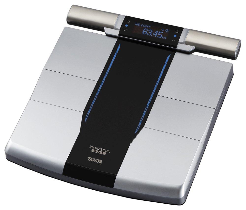 Tanita Composición Corporal analyzer- Scan su cada cuerpo partes y muscular | InnerScan Dual rd-800-bk: Amazon.es: Hogar