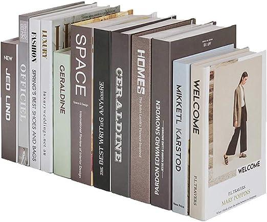 ZAQXSW European Fake Books Photo Props Libros Decorativos Adornos ...