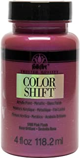 product image for FolkArt Color Shift Acrylic Paint in Assorted Colors (4 oz), Pink Flash