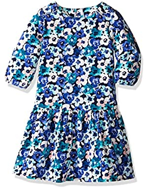 Baby Girls' Floral Print Dress