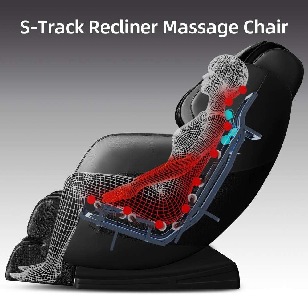 Amazon.com: KissDate - Silla de masaje eléctrica de gravedad ...
