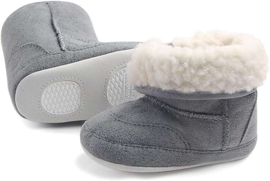 Tukistore Weiche Sohle Krippe Schuhe Stiefel Faltbar Babyschuhe Kleinkind Prewalker Boot Schuhe f/ür Neugeborene Kinder Jungen M/ädchen Baby Winter warme Schnee Stiefel