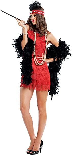 VENEZIANO Disfraz Dama Charleston Vestido Fiesta de Carnaval Fancy ...