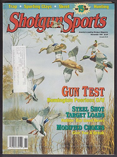 SHOTGUN SPORTS 24 Gauge O/U Modified Choke Turkey Loads Gene Sears + 11 1993