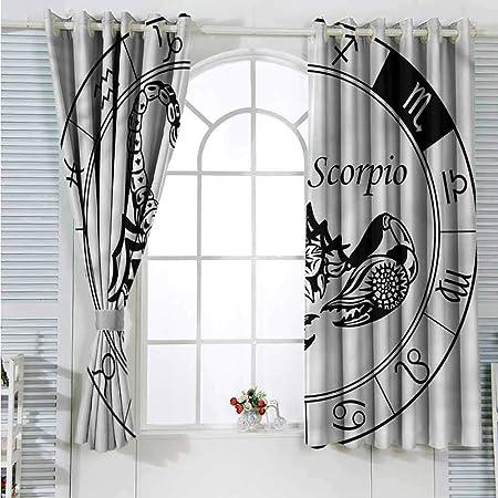 Paddy Benedict - Cortinas de baño con diseño del zodíaco Virgo ...