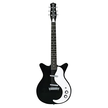 Danelectro 59 Modificado nuevo old Stock guitarra eléctrica, color negro