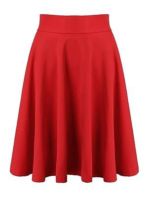 Choies Women's Polyester Pink High Waist Trumpet Midi Skirt s