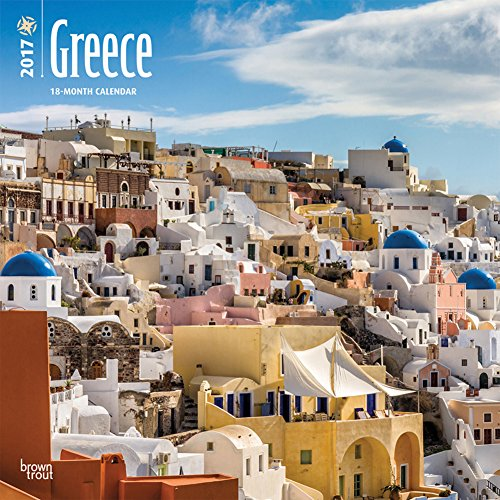 Greece - 2017 Calendar 12 x 12in