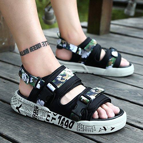 1G di pantofole da fankou estate libero estive L'anti tempo slittamento scarpe di in la e 901 spiaggia marea sandali e fresco moda 44 8X8EBqw