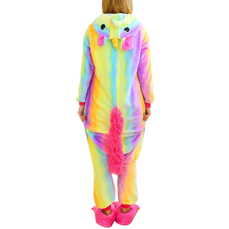 Pijama Unicornio Adulto - Cosplay Animal Disfraz Pyjamas Mujer Hombre Traje de Navidad: Amazon.es: Ropa y accesorios