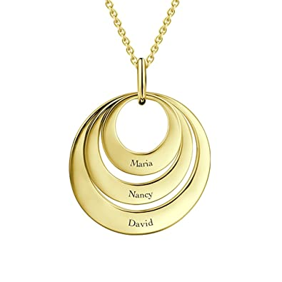amazon com soufeel 925 sterling silver necklace personalized