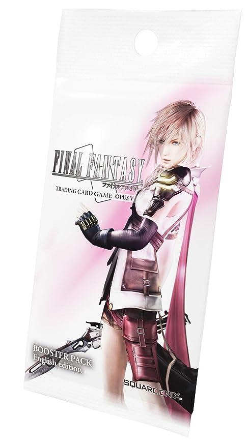 Square Enix Final Fantasy Opus V - sobre 12 Cartas ESPAÑOL ...