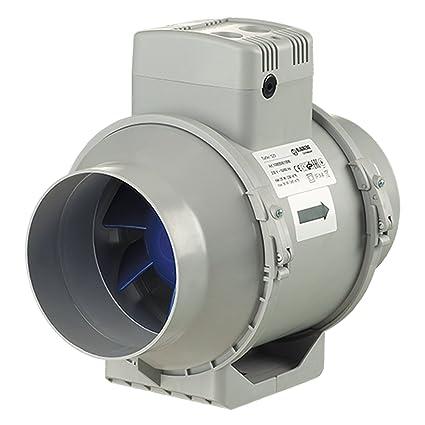 Blauberg Reino Unido turbo-125-t Blauberg Turbo flujo mixto en línea ventilador Extractor