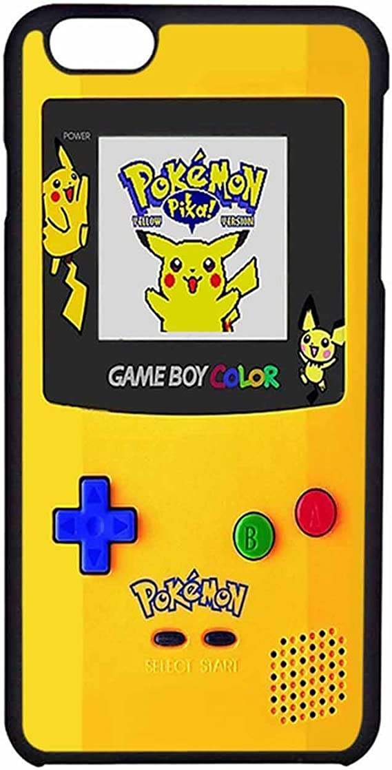 Gameboy Farbe Pokemon Edition Iphone 6 Hülle Iphone 6s Schutzhülle Schwarz Kunststoff Elektronik