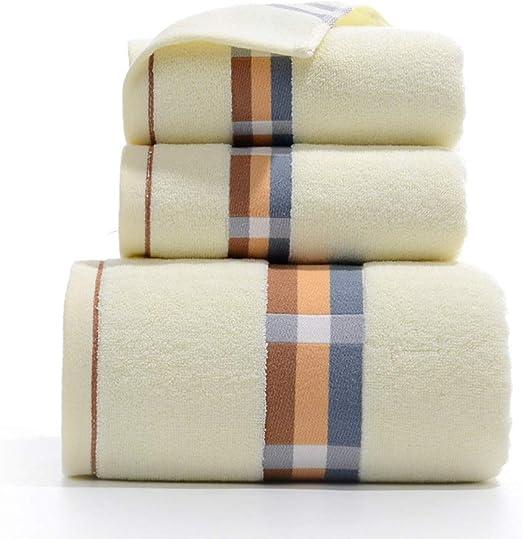 LIFEILONG Toalla de algodón Toalla de baño Toalla de algodón de ...