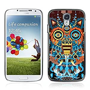 Colorful Printed Hard Protective Back Case Cover Shell Skin for Samsung Galaxy S4 IV (I9500 / I9505 / I9505G) / SGH-i337 ( Abstract Monster )