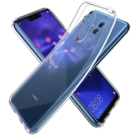 pretty nice ebdc7 71189 Spigen Liquid Crystal Designed for Huawei Mate 20 Case (2018) - Crystal  Clear