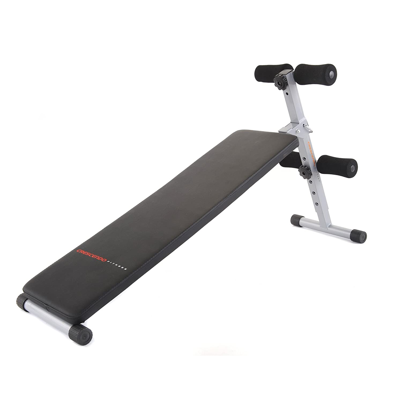 crescendo fitness slant sit up bench