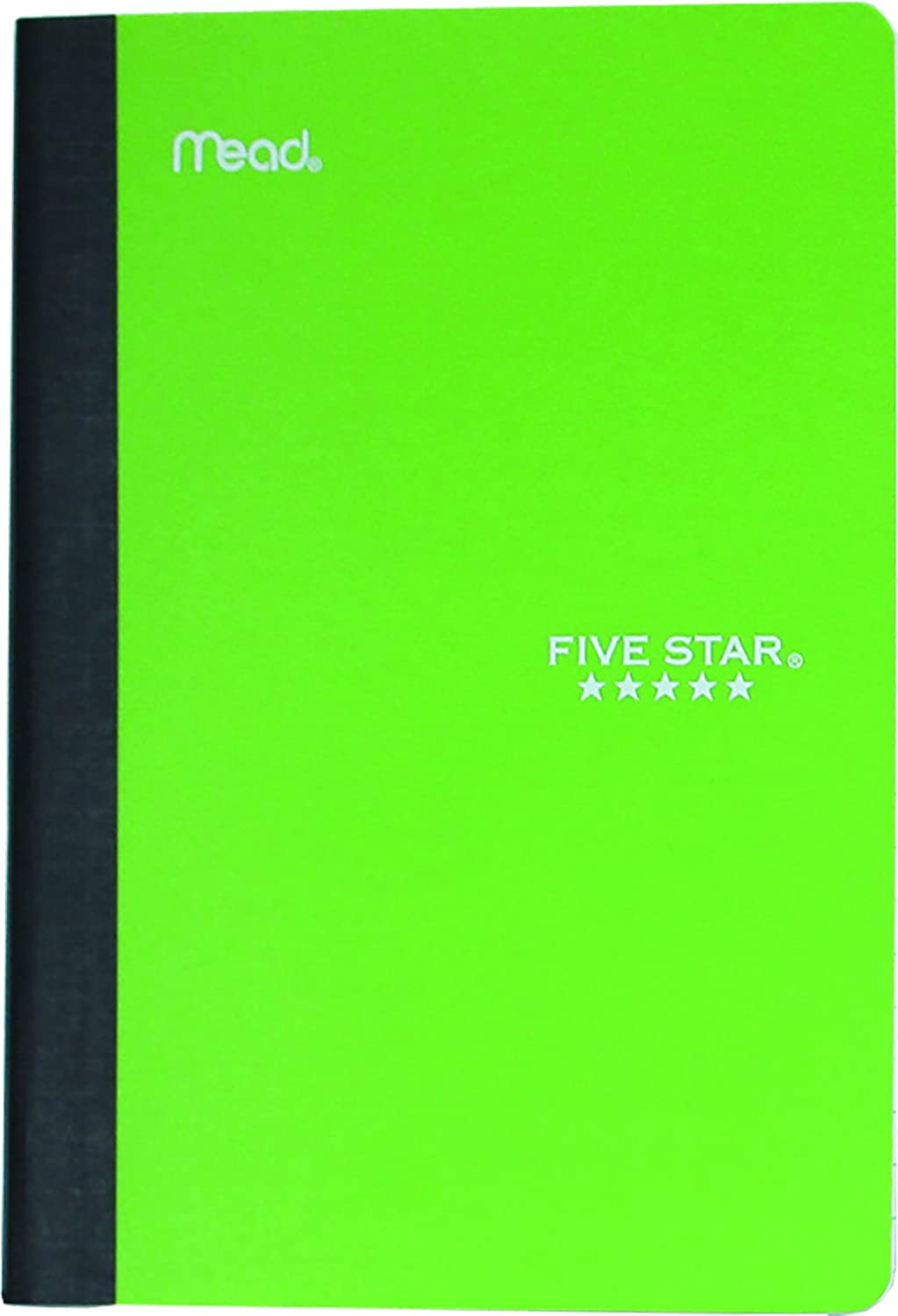 Five Star 09735 Poly Wireless Composition Notebook, College Ruled, 7x5-Inch, 1-Subject, 100-Sheets, Assorted Colors
