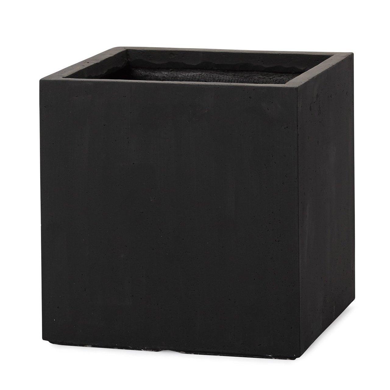 植木鉢 大型 ファイバークレイプロ ベータ キューブプランター 55 ブラック B00LSB0ILQ 55 ブラック ブラック 55