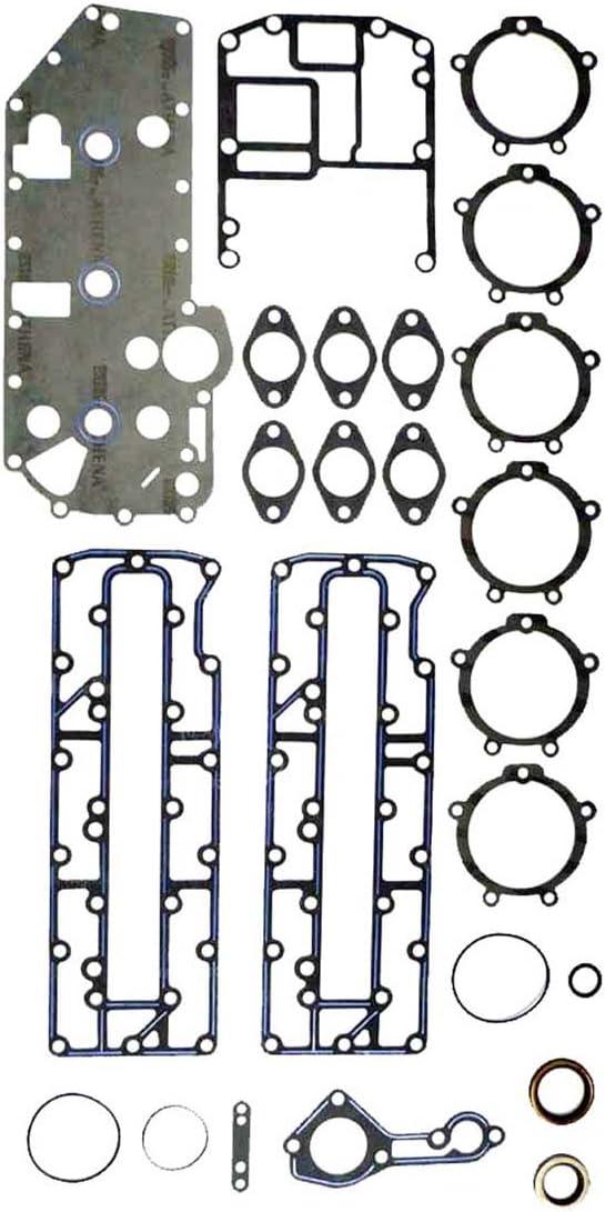 MERCURY 70-90 HP L3 Complete Power Head Gasket Kit WSM 500-206 OEM# 27-43004A99