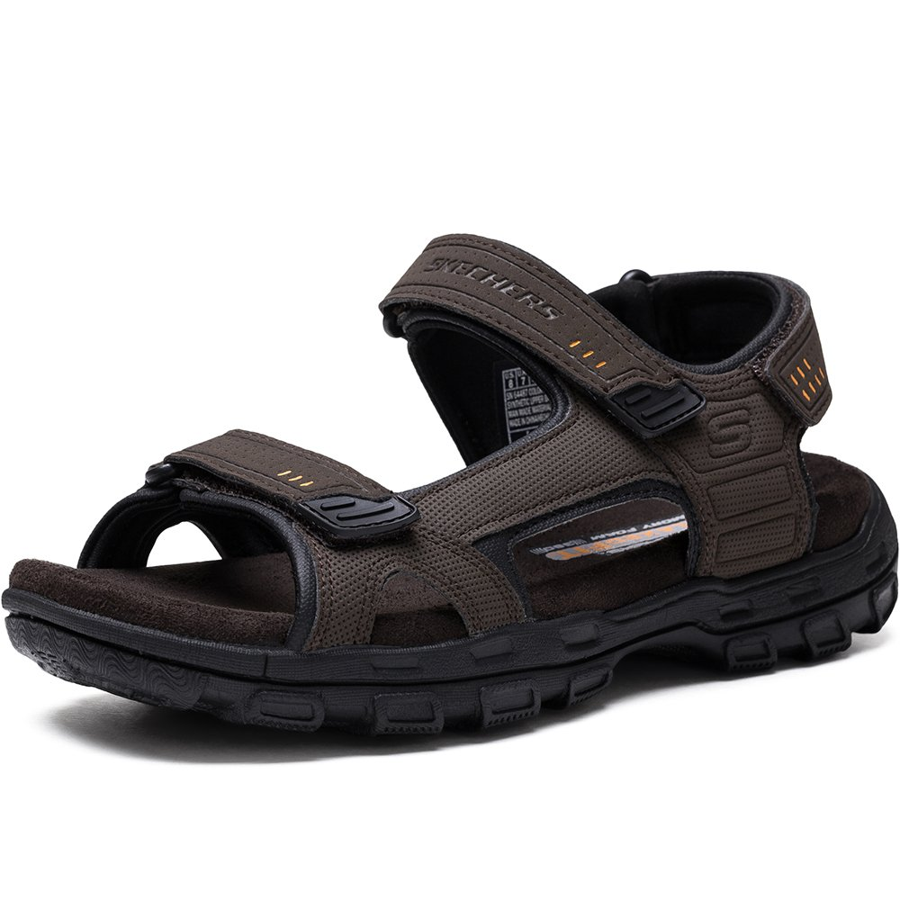 Skechers Gander- Louden - Zapatos para Hombre 45 EU|Brn