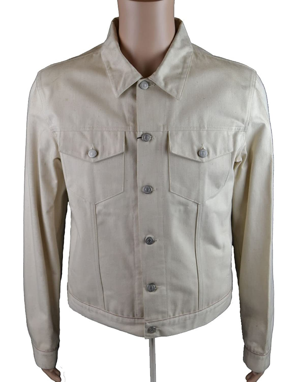 Jil Sander Men's Denim Jacket Cream (JSJK002)