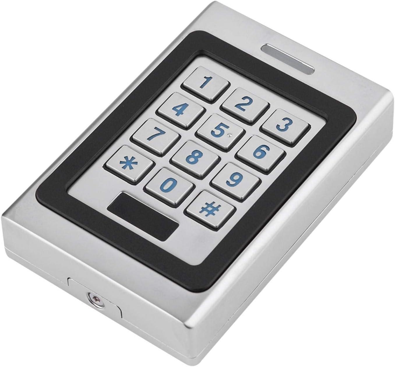 Controlador de Acceso, Sistema de Control de Acceso de Puerta de Seguridad con Teclado, Aspecto metálico único, Alta Seguridad y confiabilidad, Utilizado en hogares, oficinas, áreas
