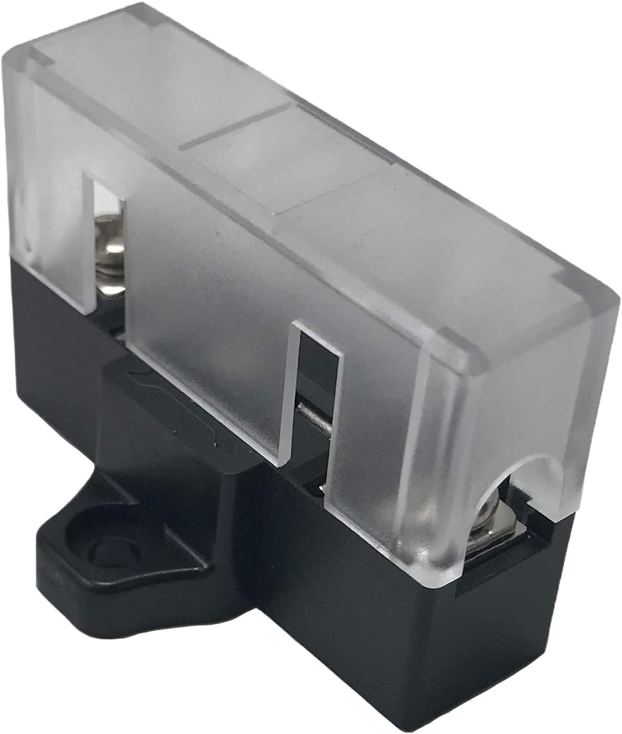 Automotive Marine Car Boat RV Stack-able Add-on In-line Fuse Holder Panel /& Distribution Block for ATO//ATC /& ATM//MIN Blade Fuses 3