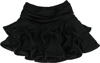 TOOGOO(R) Falda de Danza latina para Muchacha Falda de danza de ...