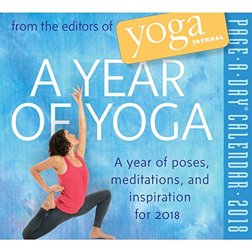 Nice A Year of Yoga 2018 Page-A-Day Calendar for sale
