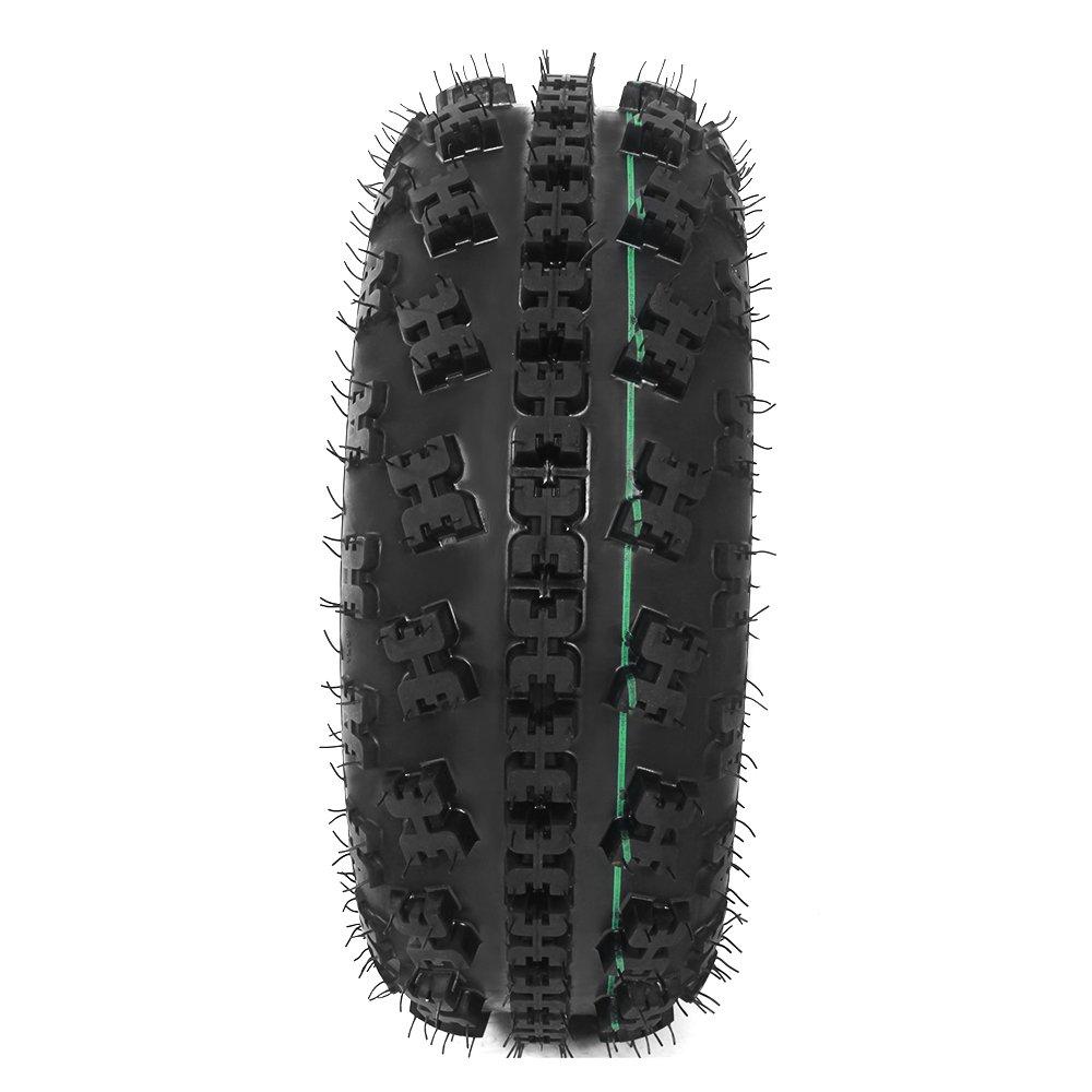 Pack of 2 Motorhot ATV Tires 21X7-10 P348 Front Wheel 4 Ply
