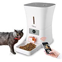 SKYMEE 8L WiFi Pet Feeder Automatic Food Dispenser for Cats & Dogs - 1080P Full HD Pet Camera Treat Dispenser with Night…