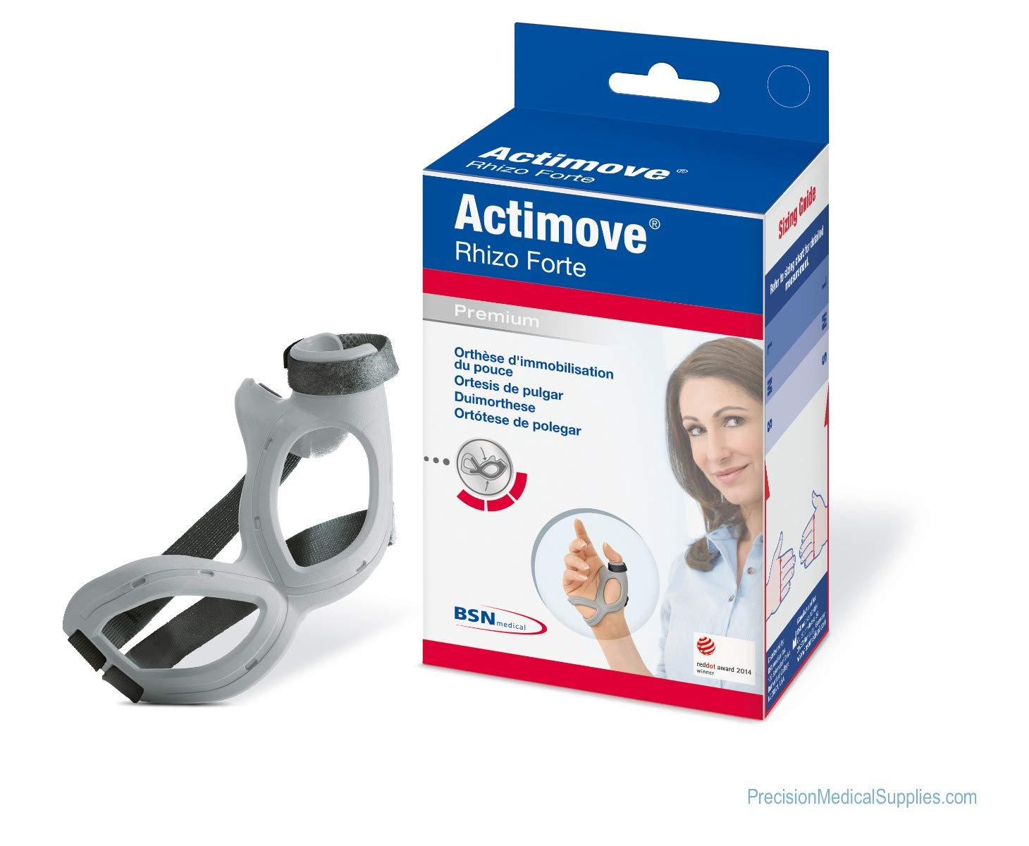Actimove - Rhizo Forte Thumb Brace Right Medium by Actimove (Image #1)
