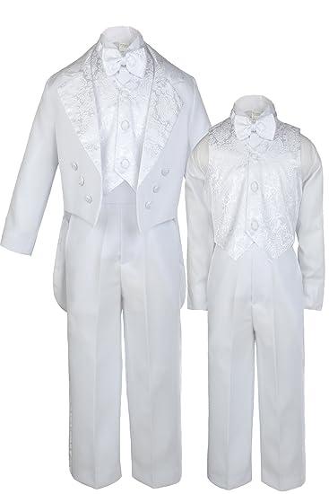 6a8f615df Amazon.com  Unotux Baby Shower Boy Christening Baptism Suits Tuxedo ...