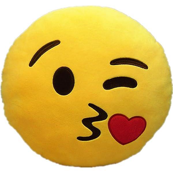 Cojín con Diseño de Emoji Emoticonos Emoticones Diablo Suave ...