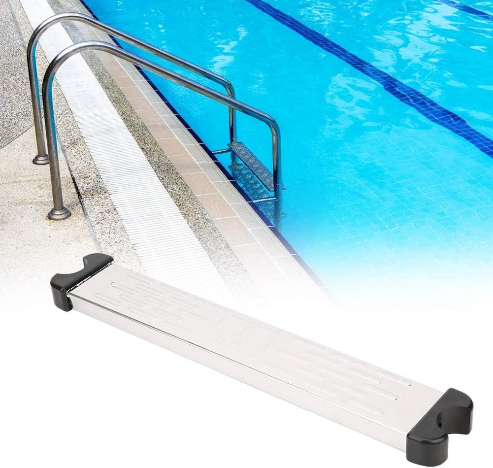 Escalera de pedal para piscina, escalera de repuesto para pedal de piscina de acero inoxidable, accesorios antideslizantes para piscina interior y exterior: Amazon.es: Bricolaje y herramientas